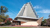 The Beth Sholom Synagogue, designed by Frank Lloyd Wright and opened 60 years ago, still stands as a functioning place of worship and an art piece in Elkins Park, Pa., just north of Philadelphia.
