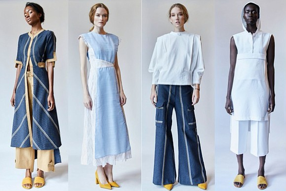 Designer Hanh Merriman's namesake spring/summer '20 collection was inspired by the desert mountains in Utah.