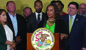 Illinois State Senator Toi Hutchinson will soon resign from her elected office to take on the role of overseeing the state's newly legalized recreational marijuana program. Photo Credit: Provided by the Office of Illinois State Senator Toi Hutchinson