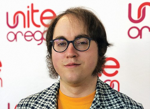 Andrew Riley of Unite Oregon