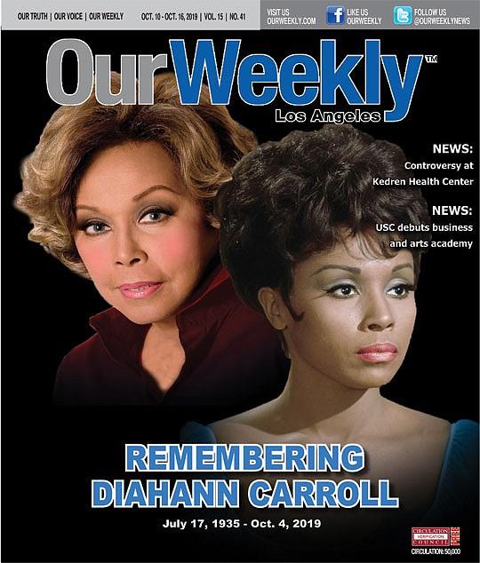 Actress-singer Diahann Carroll, a pioneer for Black..