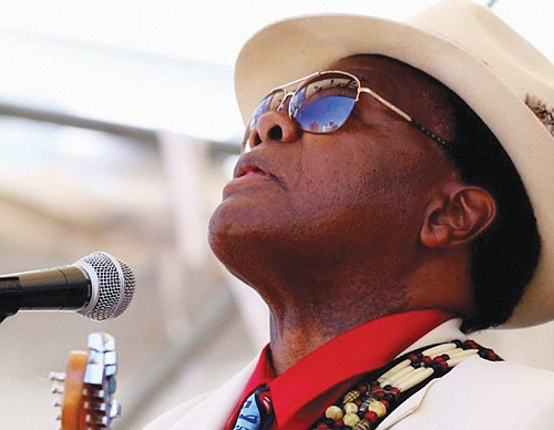 """""""Boogie Cat"""" Norman Sylvester will front a musical journey of blues and  gospel in America in concert with an all star lineup of Portland musicians when Boogie Cat Productions  presents its latest """"Phenomenal Concert,"""" at the Alberta Rose Theatre on Friday, Oct. 18."""