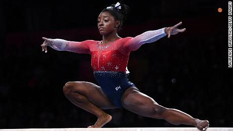 Simone Biles has done it again. And by it, we mean completing jaw-dropping moves that further proves she's pretty much ...