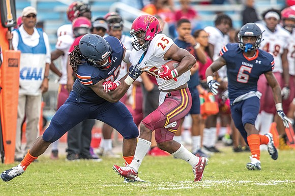 All aboard the Trojan Express. It's hard to say what's rumbling louder nowadays — Virginia State University's offense or the ...