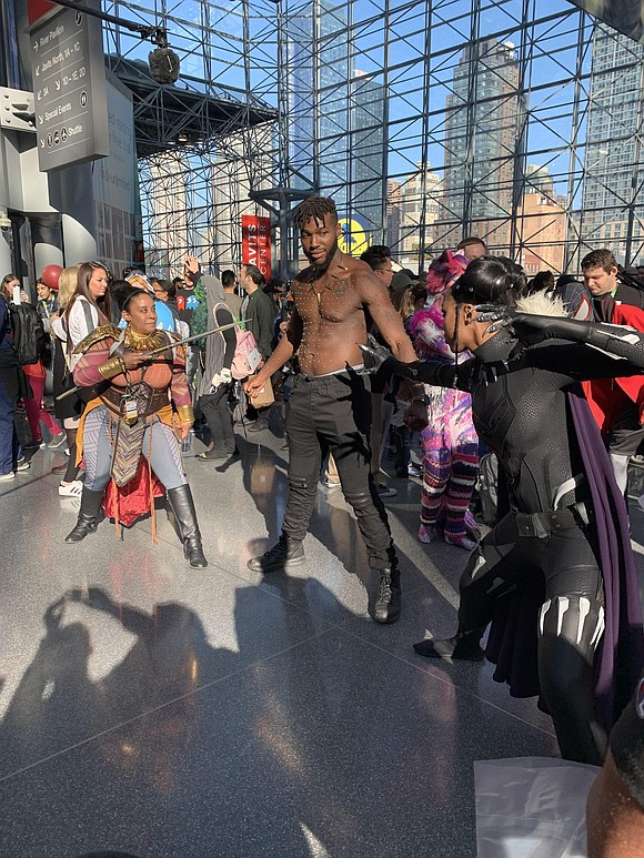 Every year my two daughters and I look ridiculously forward to New York ComicCon, and New York ComicCon 2019 was ...
