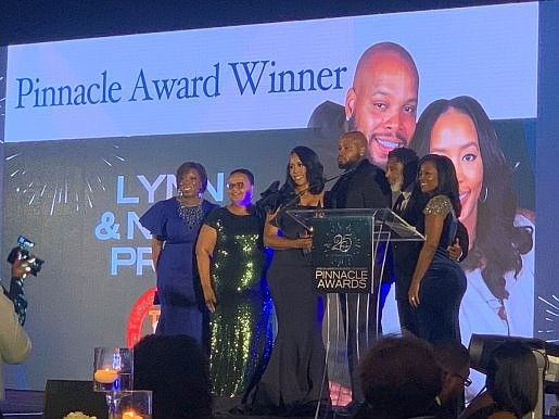 Turkey Leg Hut Founders Lynn and Nakia Price were honored as recipients of the Pinnacle Award at the 25th Annual ...