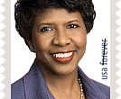 Gwen Ifill Forever Stamp