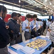 Hundreds of students attended the College & Career Fair held at Queens College Oct. 18, meeting the representatives of more ...