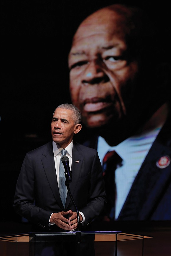 Rep. Elijah E. Cummings was eulogized as a leader with the fiery moral conviction of an Old Testament prophet at ...