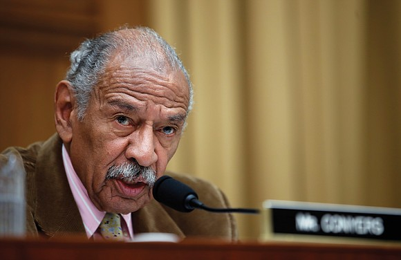 Former Rep. John Conyers, a liberal Democrat who was the longest-serving African- American member of the U.S. House of Representatives ...