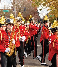 A Vancouver tradition is the city's annual Veterans Parade. This year's festivities are held on Saturday, Nov. 9 starting at 11 a.m. from the Fort Vancouver National Site and proceeding to downtown Vancouver.