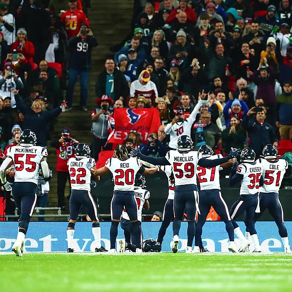 "The Houston Texans sit atop of the AFC South with a 6-3 record after going ""Across the Pond"" to defeat ..."