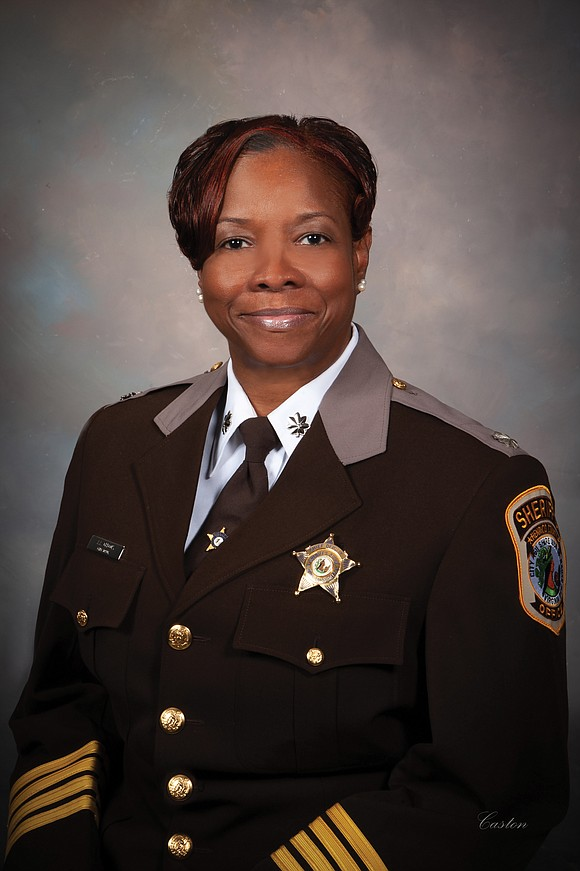 Henrico voters made history Tuesday by electing Alisa A. Gregory as the county's new sheriff.