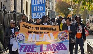 Heal the Land Prayer Walk Vigil