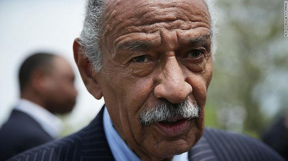 Former Rep. John Conyers, a longtime Michigan Democrat who represented parts of Detroit for more than 50 years before his ...