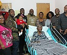 Hyacinth Bourne and her family