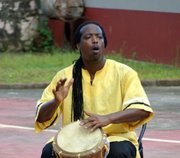 """James Lovell sings the Garifuna version of """"The Itsy Bitsy Spider."""" He will perform at the Smithsonian Folk Life Festival in Washington, DC which goes from June 26-June 30 and July 3-July 7."""