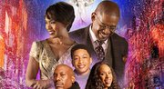 "In theaters now, the film ""Black Nativity"" stars Hollywood powerhouses Forest Whitaker and Angela Bassett. It also features music superstars Jennifer Hudson, Mary J. Blige and Jacob Latimore. The score for the movie includes new tracks from Raphael Saadiq and Laura Karpman."
