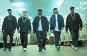 Starring O'Shea Jackson Jr., Corey Hawkins and Jason Mitchell as Ice Cube, Dr. Dre and Eazy-E, Straight Outta Compton is directed by F. Gary Gray (Friday, Set It Off, The Italian Job). The drama is produced by original N.W.A. members Ice Cube and Dr. Dre, who are joined by fellow producers Matt Alvarez and Tomica Woods-Wright. Will Packer serves as executive producer of the film alongside Gray.