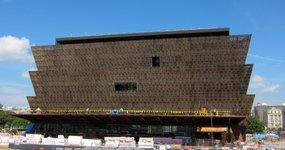 More than 13 years in the making, the Smithsonian's National Museum of African American History and Culture is getting ready to open, featuring more than 3,000 artifacts, including pieces of a slave ship to Muhammad Ali's boxing gloves. (Sept. 14)