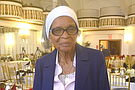 At 93 years young, Hazel Ingram is truly one of New York City's treasures. Retirement is a nonexistent word for the mother of six, grandmother of 19, great-grandmother of 40 and great-great grandmother of 6 who still works cleaning the same building on Madison Avenue for nearly 60 years, working 40 hours a week. She is also a union activist with 32BJ SEIU and a member of the Electoral College.