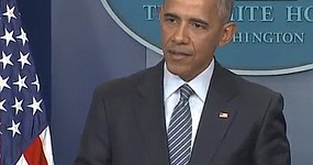 President Obama takes questions from the press for the first time since the election of Donald Trump before his trip overseas. Before leaving, Obama planned to face reporters at an afternoon White House news conference certain to be dominated by questions about the 2016 election and its consequences for U.S. policy and Obama's own legacy.