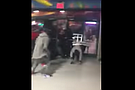 On Feb. 23 patrons at Seafood City fighting and throwing chairs. According to the local police precinct, the brawl began at nearby Johnny's Reef and subsequently spilled over into Seafood City. At least 15 people are seen in the video participating in the fight. Local officials are calling for a review of Seafood City's liquor license.