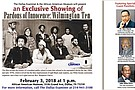 """Trailer for the Feb. 3, 2018 screening of """"Pardons of Innocence: The Wilmington Ten"""" at the African American Museum in Dallas, Texas. sponsored by The Dallas Examiner."""