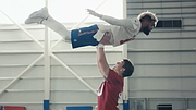"For thirty teams, the Super Bowl isn't the end of the season – it's the start of next season. See how one team is preparing for the 2018 season and their touchdowns to come with a little inspiration from the classic film ""Dirty Dancing."" Starring Eli Manning and Odell Beckham, Jr., and featuring Landon Collins, Brett Jones, John Jerry, Chad Wheeler, D.J. Fluker, and John Greco. #SBLII