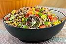 Black Eyed Pea Corn Rice Salad