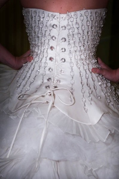 Spring '12 bridal gowns have intricate details
