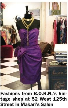 B.O.R.N.'s Vintage Clothes on West 125th Street