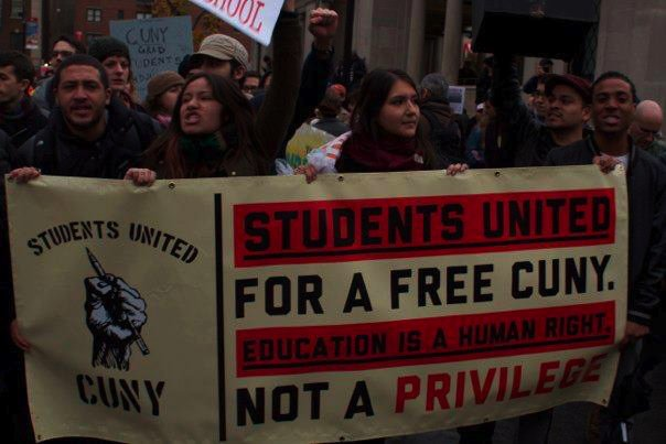 Student protesters arrested at Baruch College