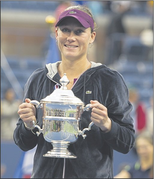 Samantha Stosur halts Serena's bid for a 14th Grand Slam title