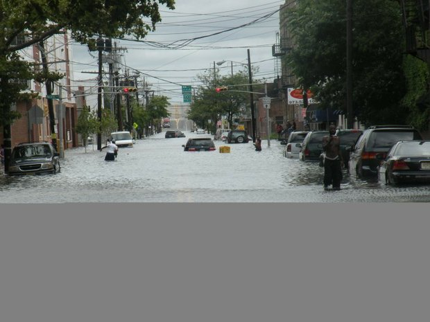 New Jerseyans soaked by Irene