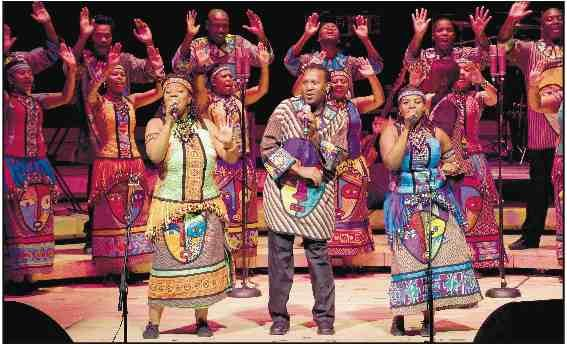 Soweto Gospel Choir  (Oliver Neubert photo)