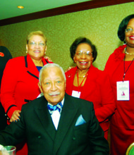 NYC Deltas celebrate centennial Founders' Day