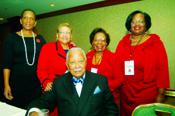 Local members of Delta Sigma Theta Sorority gathered in Midtown for a luncheon to commemorate...