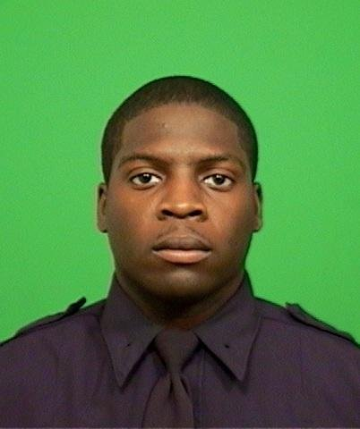 Omar Edwards, 25, a New York City police officer in plain clothes, was shot and...