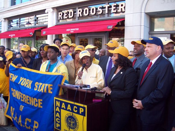 Hazel Dukes and the NAACP are setting the record straight about their position on charter...