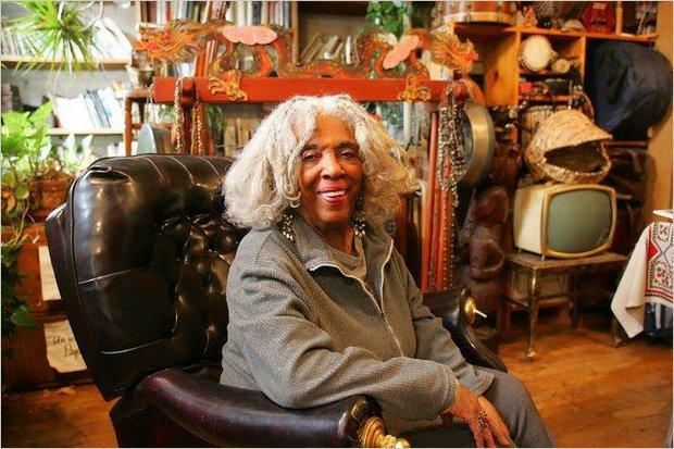 Ellen Stewart, founder of La MaMa E.T.C.
