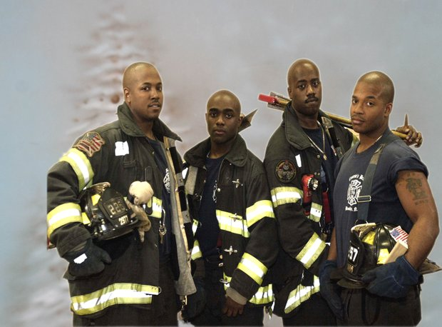 Black FDNY firefighters
