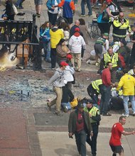 Explosion at Boston Marathon kills 3