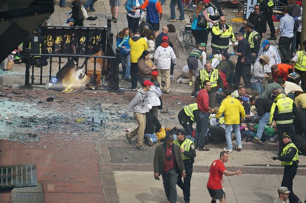 Explosion at Boston Marathon kills 3