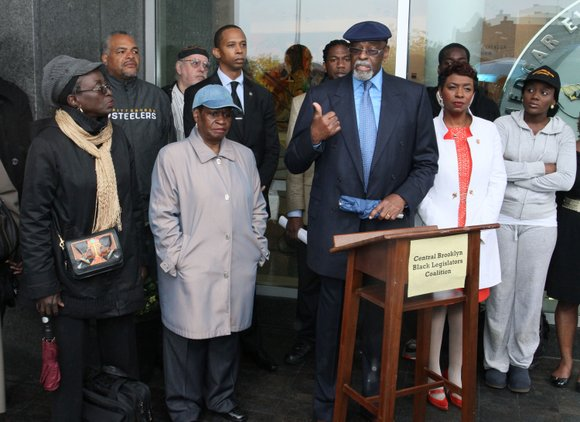 On Sunday, May 19 at 11 a.m., outside Medgar Evers College, the Central Brooklyn Black...