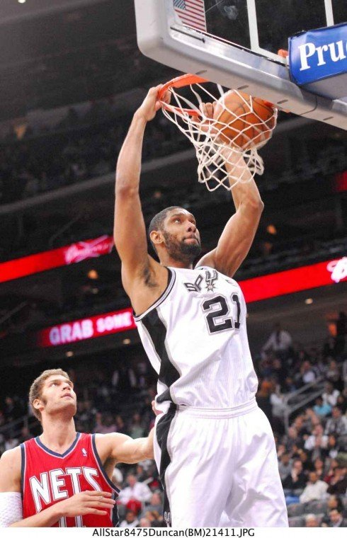 Based solely on quantitative analysis, Tim Duncan is categorically the best power forward in the...