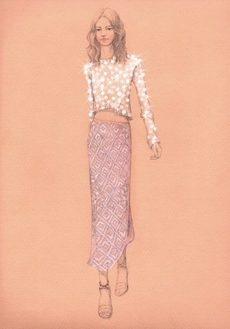 Rebecca Taylor's Spring 2012 muse