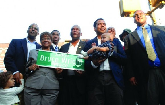 A new name sits at the intersection of West 138th Street and Adam Clayton Powell...