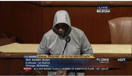 HoodiesUp! Congressman Bounced From House Floor For Rocking A Hoodie
