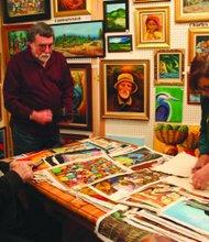 Art show raises money to help Haiti